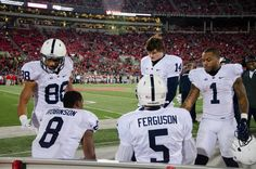 PENN STATE – FOOTBALL 2013 – Penn State vs Ohio State on October 26, 2013.