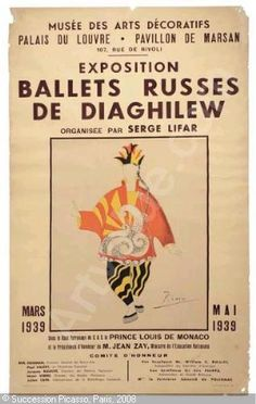 Picasso for Les Ballets Russes