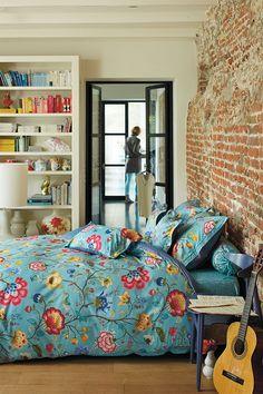 PiP Floral Fantasy   Blue Bedding   PiP Studio ©