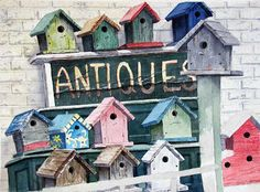Birdhouses - Love this collection!