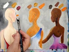 Learn how to mix 3 skin colors in Acrylic paint. This video will get you started painting Flesh tone in Acrylic so you can make all your art reflect your wor...