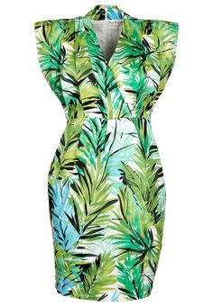 Summer dress by Black Secret @ Zalando ❤ Flowers