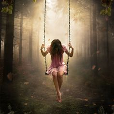Create a Dreamlike Photo Manipulation of an Emotional Girl with a Dramatic…