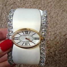 Valentino watch 100% Authentic  New with box never worn.  No trade  Valentino Accessories Watches