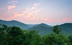 The Smoky Mountains in Tennessee
