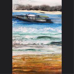Portfolio - Muurschilderingen van Top de muur! Waves, Painting, Outdoor, Art, Outdoors, Art Background, Painting Art, Kunst, Paintings