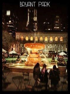 Bryant Park, Midtown Manhattan, NYC