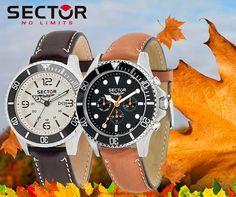 Affronta l'autunno con al polso un orologio della collezione autunno/inverno di #Sector: i toni beige e marroni ricordano il tipico foliage autunnale, per un mood al passo con i tempi! www.pisanigioielleria.com