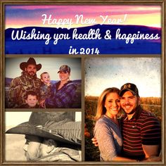 Happy New Year! Wishing you health & happiness in 2014!