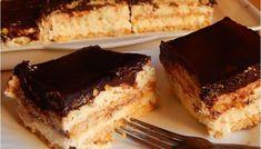 Kekszes krémes - Gyors süti Hungarian Desserts, Hungarian Recipes, Cake Cookies, No Bake Cake, My Recipes, Tiramisu, Food And Drink, Sweets, Snacks