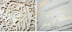 Luxury Wedding Invitations by Ceci New York - Our Muse - Feminine Pink Wedding in Los Angeles: Vanessa