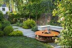 Large Garden in Barnes | Charlotte Rowe Garden Design