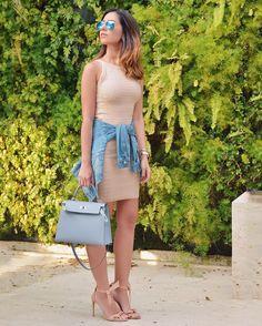 Candy Colors!  Look de hoje... Básico e nesses tons que amo!  { vestido que veste incrivelmente bem @galeriatricot }  #ootd