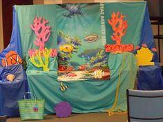 Great Barrier Reef decos-Craft room