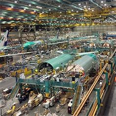 Boeing Factory Tour in Everett, WA just outside of Seattle is a definite must see in person when in the area. The sheer scale of the space a...