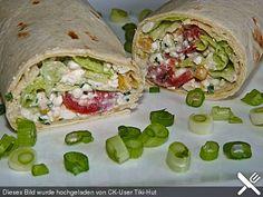 Gemüse - Hüttenkäse - Wraps, ein leckeres Rezept aus der Kategorie Sommer. Bewertungen: 14. Durchschnitt: Ø 4,0.