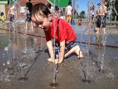 Highland Park Playground Wading Pools and Sprayparks in Seattle