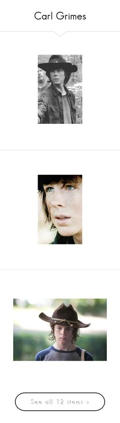 """""""Carl Grimes"""" by fatimalarios on Polyvore featuring shoes"""