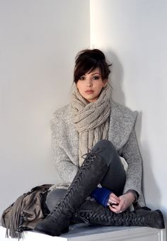 Keiko Lynn | winter inspiration | stylish and bundled up