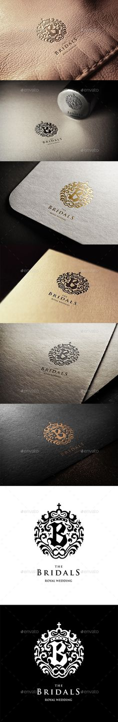 The Bridals Logo Template #design #logotype Download: http://graphicriver.net/item/the-bridals-logo/11272861?ref=ksioks