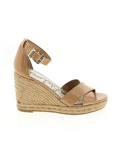 Sam Edelman Women's Shoes at up to off retail price! Discover over brands of hugely discounted clothes, handbags, shoes and accessories at thredUP. Sam Edelman Espadrilles, Shoe Sale, Wedges, Sandals, Brown, Accessories, Shoes, Women, Products