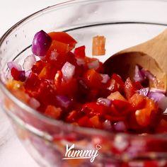 Indonesian Sambal Recipe, Indonesian Food, Halal Recipes, Asian Recipes, Cooking Recipes, Feel Good Food, Easy Casserole Recipes, Food Videos, Easy Meals