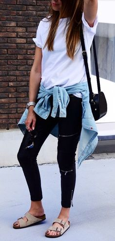 #summer #outfits Casual Monday