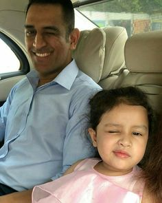 Dhoni and Ziva Ms Doni, Ziva Dhoni, Ms Dhoni Photos, Ms Dhoni Wallpapers, Like Father Like Daughter, Chennai Super Kings, Sports Personality, Latest Cricket News, Just A Game