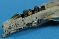 The Modelling News: Gary's FineMolds Tomcat: The build concludes The Modelling News, Modeling, Uss Enterprise Cvn 65, Ejection Seat, F14 Tomcat, Touch Up Paint, Ferrari 488, Model Airplanes, Tamiya