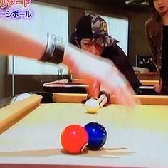 2006.4.26ほんじゃに:ビリヤード 横山さん超絶うまい!!#横山裕 #関ジャニ