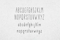 Casual Look typeface