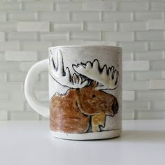 This perfect, cozy lil' mug. | 21 Adorable Things You Need If You Love Moose
