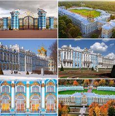 Olga Nikolaevna's birthplace, Catherine Palace, Tsarskoe Selo