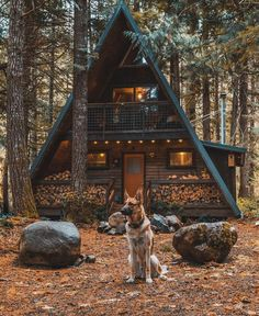 n this article, we will talk about excellent log cabin interior design you can apply into your cabin. Furnishing a log Cabin Interior Ideas. A Frame Cabin, A Frame House, Cabin Homes, Log Homes, Cabin In The Woods, Cottage In The Woods, Cabins And Cottages, Small Cabins, Log Cabins