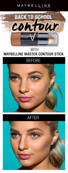 Sculpt your face to perfection with just one easy dual stick with our Master Contour Duo Stick!  Use the highlight side to highlight and bright out the high points of the face.  Use the contour side to chisel and sculpt the face.