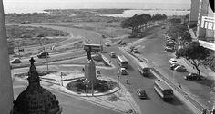 Em 1961, a Praia do Flamengo já havia desaparecido, coberta pela areia do Aterro 12/06/1961