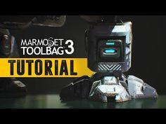 Marmoset Toolbag 3 - Portfolio ready renders - YouTube