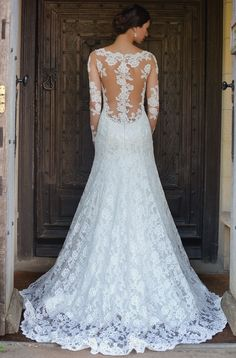 "Augusta Jones ""Jo"" gown back 