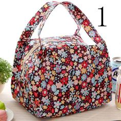 Portable Rattan Lunch Bag Waterproof Thermal Food Storage Box Tote Lunch Bags Tx