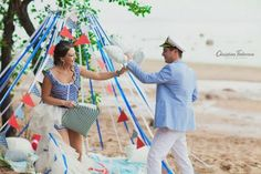 Фотосессия love story в морском стиле | Decorsando.ru