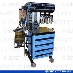 Drager Narkomed 2A Anesthesia Machine Gotta love the Blue Bombers