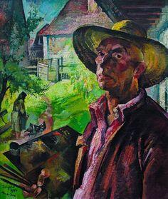 Zsögödi Nagy Imre - Self portrait Portrait, Artists, Image, Hungary, Paintings, Headshot Photography, Paint, Painting Art, Portrait Paintings