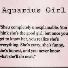 #Being Aquarius