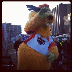 Lehigh Valley Phantoms Mascot Dax