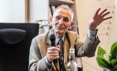 Prof. Jan Strelau, spotkanie w ramach Festiwalu Kopernika w Krakowie, 20 maja 2015 r. / fot. Kamila Zarembska / TP