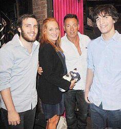 Springsteen Family, Evan, Patti, Bruce & Sam