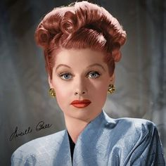 Hair inspiration #lucilleball