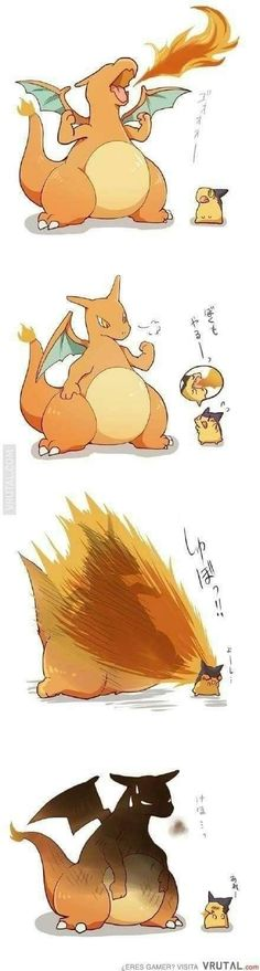 Cyndaquill burn charizad,virtual man'!!