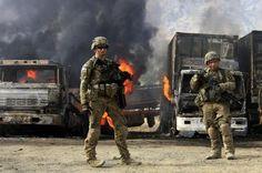 Afghan Taliban fighters strike NATO post - ALJAZEERA.COM #Afghanistan, #NATO, #Taliban