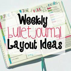 Weekly Bullet Journa